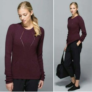 Lululemon Marron The Sweater The Better